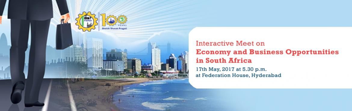 Interactive Meet on Economy and Business Opportunities in South Africa