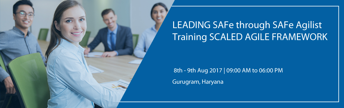 """Book Online Tickets for LEADING SAFe through SAFe Agilist Traini, Gurugram.   """"Leading from the front: Scaling Agile to Leading the Lean-Agile Enterprise.""""    When we talk about Scaling Agile Framework, SAFe Agilist training and certification is basic and mandatory training for scaling large scale org"""