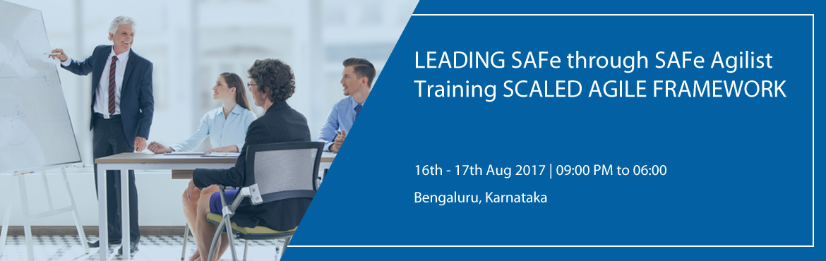 "Book Online Tickets for LEADING SAFe through SAFe Agilist Traini, Bengaluru.        ""Leading from the front: Scaling Agile to Leading the Lean-Agile Enterprise."" When we talk about Scaling Agile Framework, SAFe Agilist training and certification is basic and mandatory training for scaling large scale org"