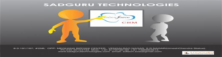 Book Online Tickets for cloud computing training in ameerpet, Hyderabad. Sales Force CRM Training @ Sadguru Technologies