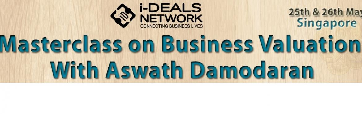 Masterclass on business Valuation with Aswath Damodaran 25-26th May 2017