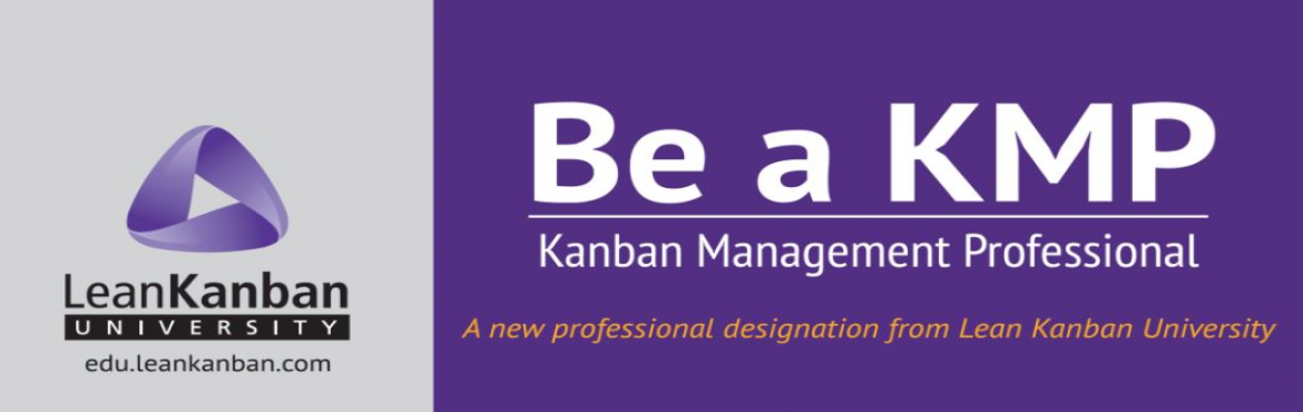 Book Online Tickets for Be A Kanban Management Professional (KMP, Gurugram. Better Value To become a Kanban Management Professional, we offer a combined 4-day course that covers both KMP1 & KMP2 syllabus.    Are you struggling with implementing Agile in your organization? Is the change too preive? Are your te