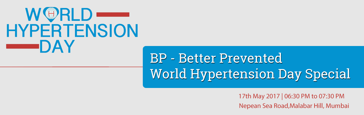 BP - Better Prevented - World Hypertension Day Special