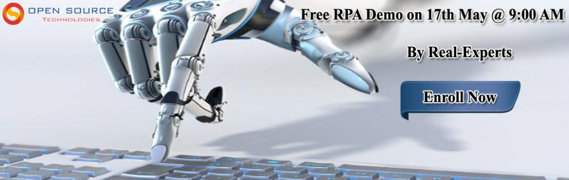 Hitech your IT Career in Robotics Field by attending Free RPA DEMO