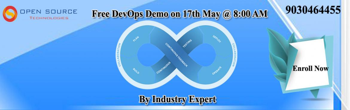 Open Source Technologies is organizing the free demo with the intention to make the students as well as the IT professionals who want to upgrade their