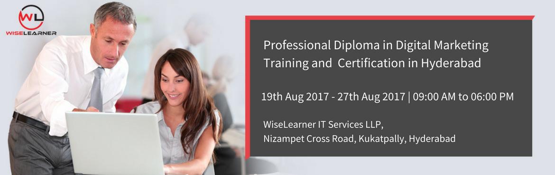 Professional Diploma in Digital Marketing Training