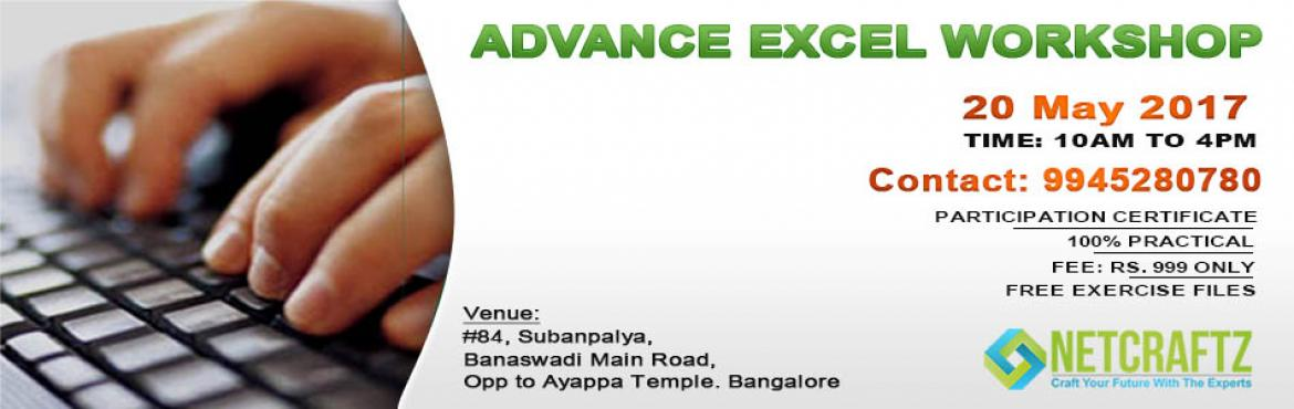 Advance Excel Workshop