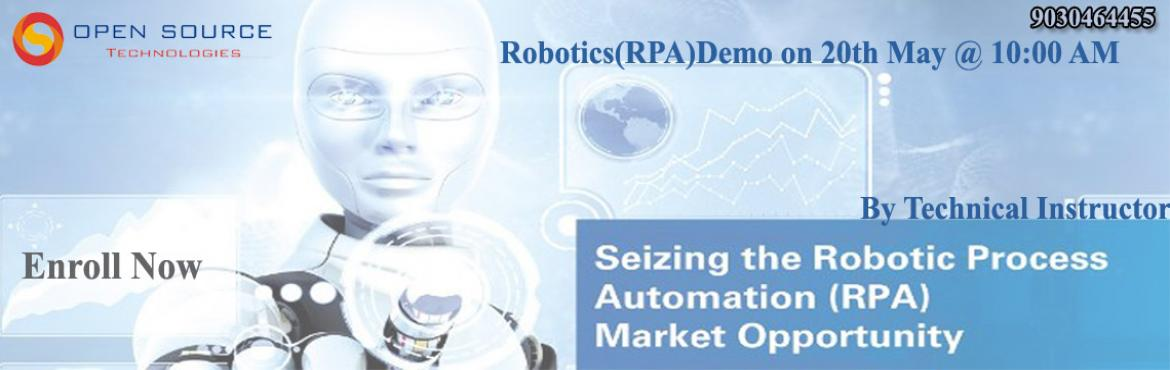 Robotics Process Automation is the application of technology that allows the employees to configure computer software or a robot to interpret all the