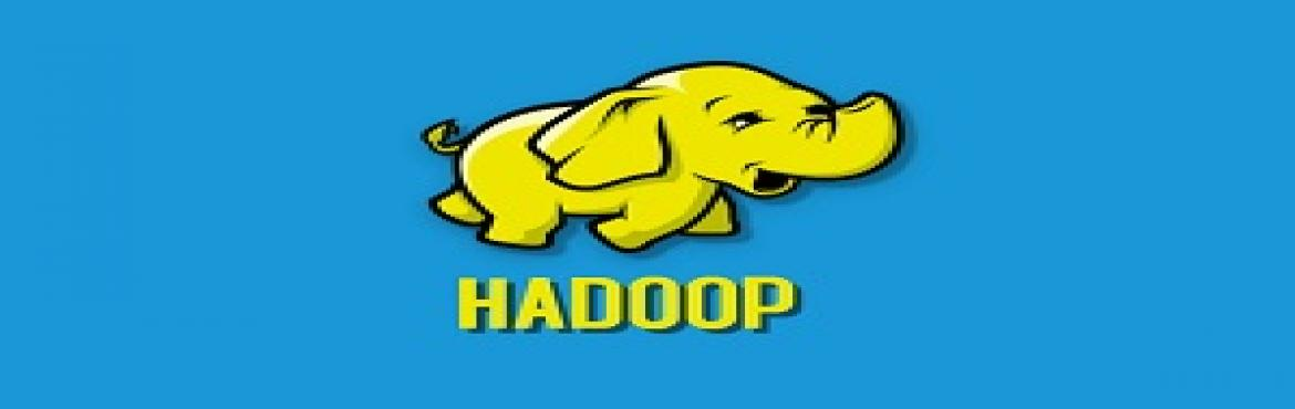 Book Online Tickets for Hadoop Online Training , Hyderabad.  Hadoop  online training and certification provides Hadoop Administration management training permits you gain expertise to hold large and complex Hadoop Clusters through way of planning, installation, Configuration, tracking & Tuning. Appre