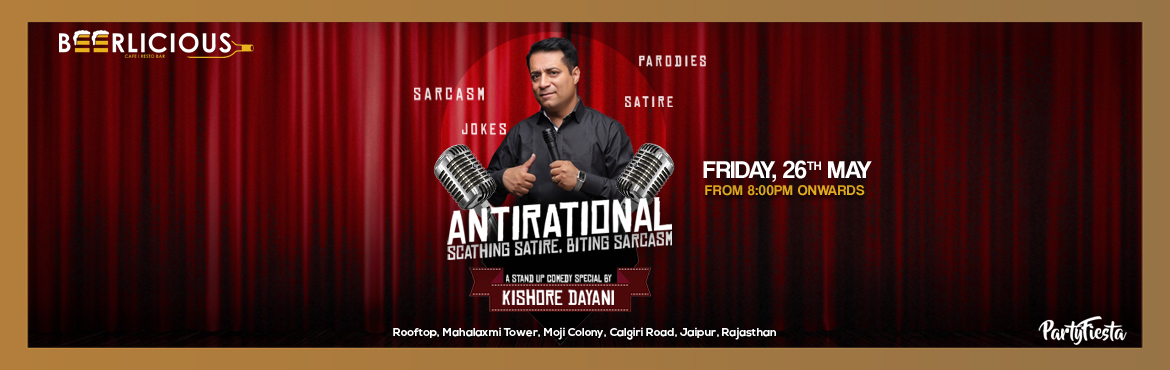 Book Online Tickets for Stand Up Comedy Show feat. Kishore  Daya, Jaipur. Kishore Dayani the boy from Ranchi, is diverse and is pleasantly deceptive. His Joking habit propelled him to pursue stand-up comedy. The small town boy trying to make it big. Being a mix of Bihari, Jharkhandi, Sindhi and A Delhiwala hasn\'t helped m