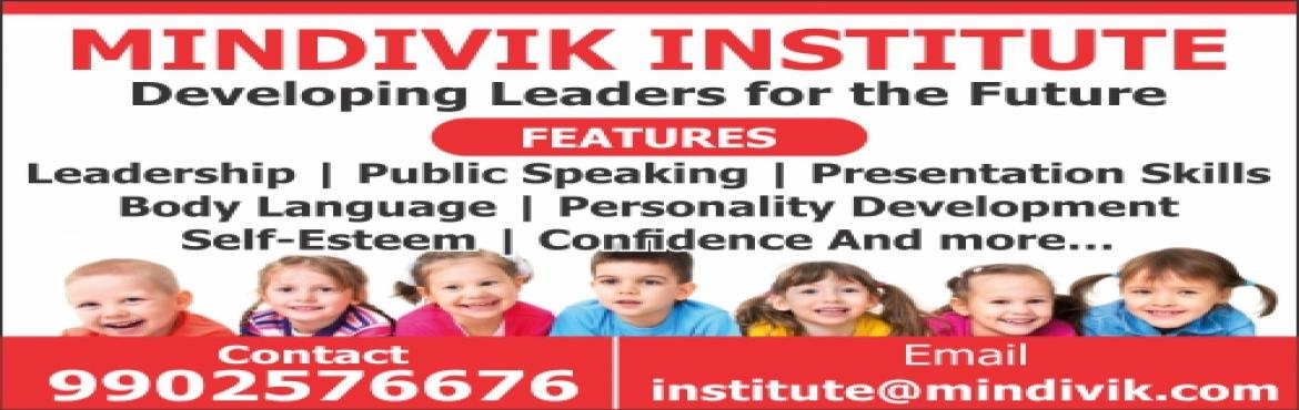 Book Online Tickets for Public Speaking and Leadership Program f, Bengaluru.  Mindivik Institute proudly announces the Leadership Exploration and Development (LEAD) Program for kids starting in June 2017.  This unique program focuses on the learning that are of utmost importance in today's competitive world,