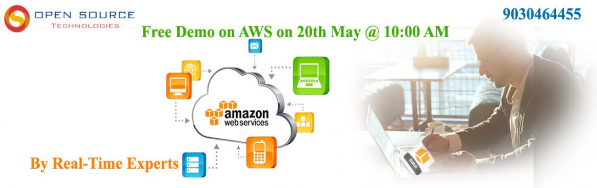 Book Online Tickets for Know Career Oriented Facts Of AWS By Att, Hyderabad.   Get Interacted With AWS Experts At Free Demo In \'Open Source Technologies\'.   Open Source Technologies is establishing the free demo on AWS with the intention of generating more awareness of the present booming course of AWS Training In