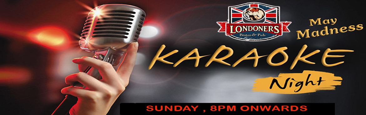 Book Online Tickets for Karaoke Night on 21st May, Sunday with Z, New Delhi.  Karaoke Night on 21st May, Sunday at 8pm with Zaarra