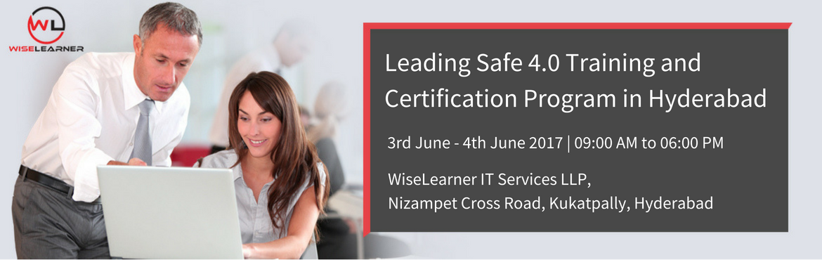 Book Online Tickets for Leading Safe 4.0 Training and Certificat, Hyderabad. OVERVIEW The Scaled Agile Framework (SAFe) is a complete methodology for large-scale, multi-team agile project teams to carry out this transformation seamlessly. Created by Dean Laffingwell, this framework effortlessly synchronizes the alignment, col