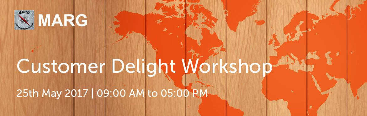 Book Online Tickets for Customer Delight Workshop By Marg, Bengaluru.  Participant Profile:Customer Facing Employees – Individual Contributors (First Level).Eg Front office, Customer service representative, Client servicing professionals, Field sales executives, Customer care coordinators, Guest relations o