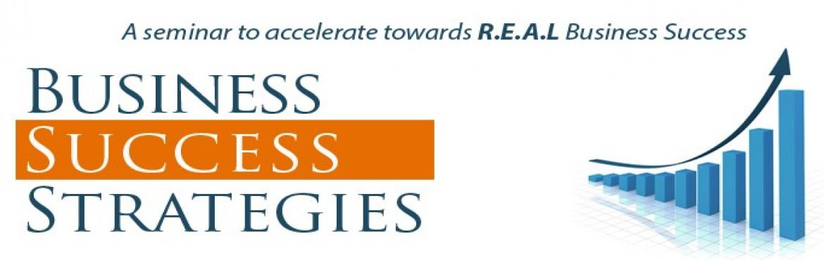 Free Seminar: Business Success Strategies