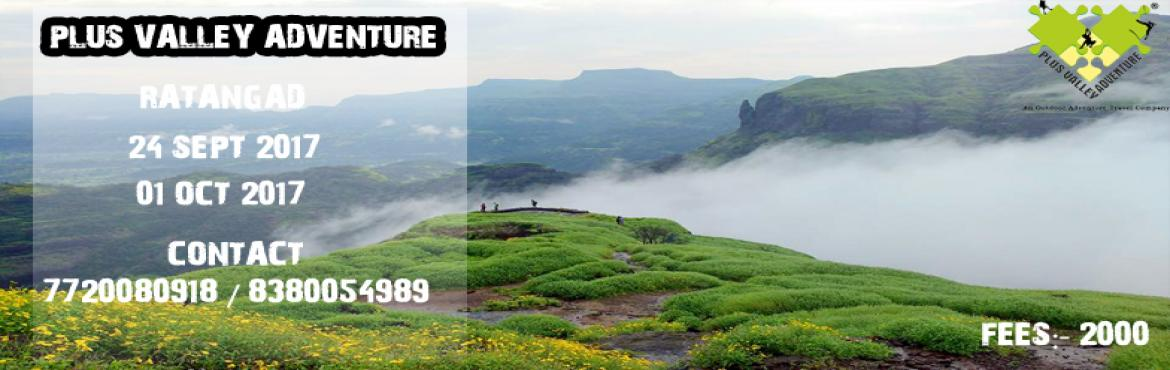 "Book Online Tickets for Ratangad Trek, Pune.    RATANGAD TREKExplore superb landscapes as you embark on a thrilling escapade with Ratangad Fort trekOverview:-""Ratangad is a hill fort near Ratan Wadi,. The fort is about 2000 years old. Ratangad has a natural rock peak with a cavi"