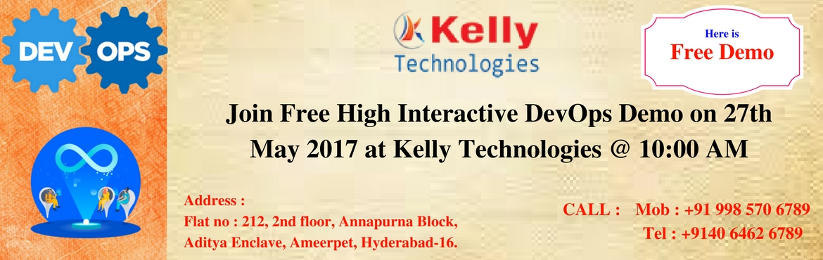 Join Free High Interactive DevOps Demo on 27th May 2017