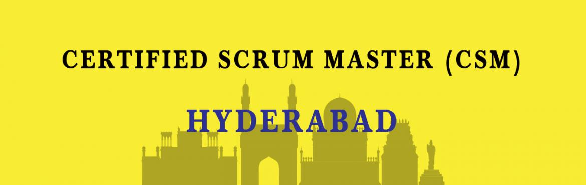 Book Online Tickets for Certified Scrum Master (CSM) Training in, Hyderabad. Overview Increasingly intense competition in fast-changing markets is forcing organizations to find better ways to develop new products and bring them to market – faster, better, cheaper.  The Agile approach to product development is