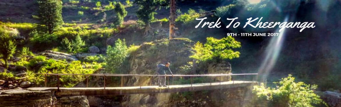 Book Online Tickets for Trek To Kheerganga, Bengaluru. Kheerganga is just not the place, it is purely a spiritual ground which connects you with your inner peace. It is one of the most refreshing treks. This trek is not all about the summit it is all about the journey because sometimes the journey is mor