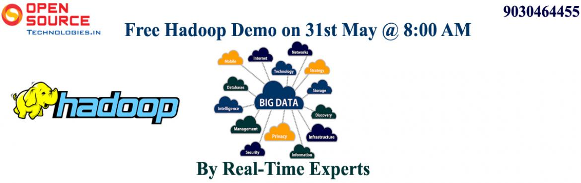 Enroll For The Free Demo On Hadoop Administration Conducted By The Well Experienced Instructors