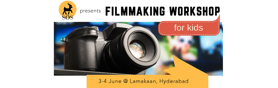 Book Online Tickets for Introduction to Filmmaking Workshop For , Hyderabad. Presenting 'Filmmaking Workshop' - 2 Day Summer Camp For Kids to help your child gain life skills.     Key Focus Areas of the Filmmaking Workshop:  Assimilation of information: We will go through the process of visual storytelli