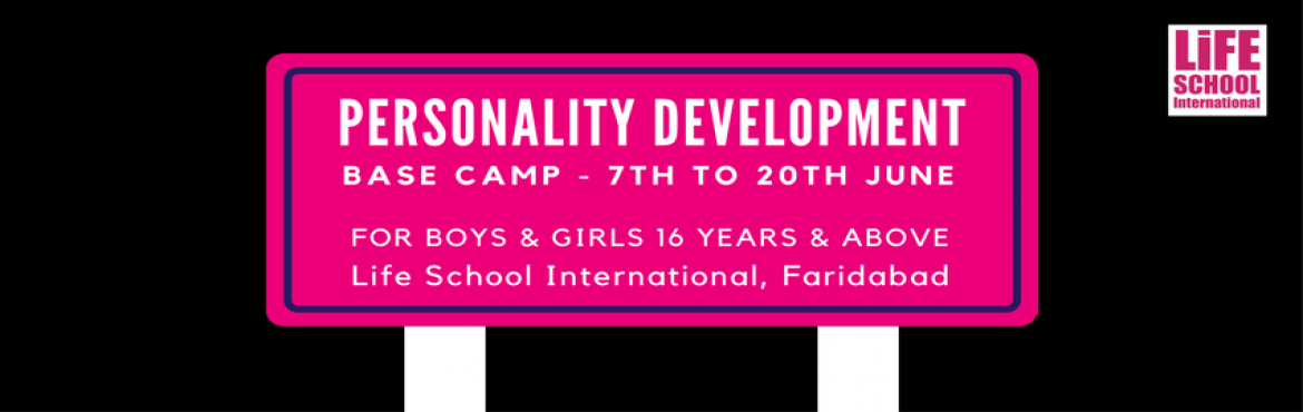 Book Online Tickets for Personality Development Classes @ Farida, Faridabad.   Personality Development classes are desgined to transform individuals into a powerhouse of Success & Happiness. Its organised by Life School International (an Initiative of ETC Inc.) 5 Reasons why should you join Personality Developme