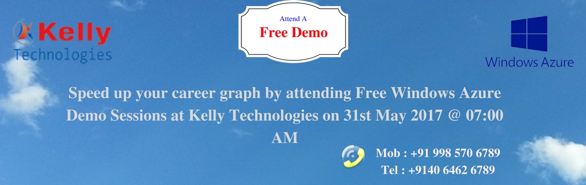 Speed up your career graph by attending Free Windows Azure Demo Sessions