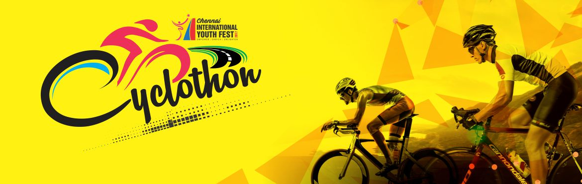 Book Online Tickets for CIYF CYCLOTHON, Chennai. Truly, the bicycle is the most influential piece of product design ever. - Hugh Pearman A true masterpiece in design with the advanced aerodynamics of the rider and the cycle makes this contest really interesting. It is rainy or sunny, curved or stra