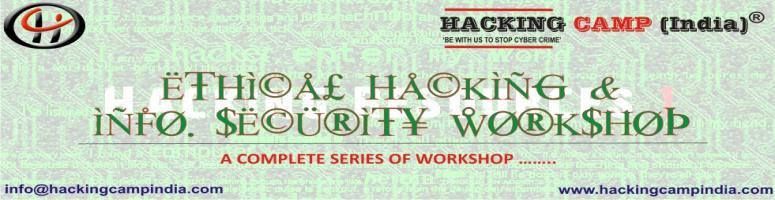Hacking Camp India(R) Conducting workshop on Ethical hacking & Info. security in Jamia Millia Islamia(JMI), NEW DELHI