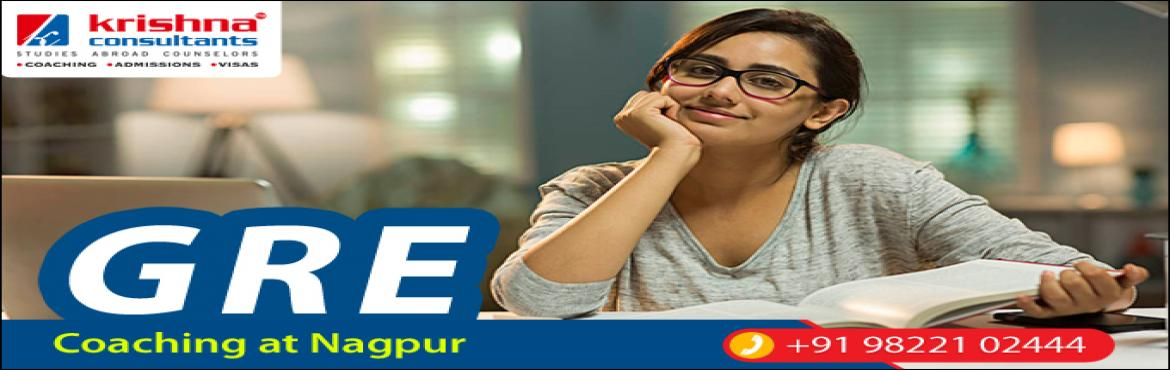 Book Online Tickets for GRE Coaching in Nagpur - New Batch @Kris, Nagpur.   GRE Coaching in Nagpur - by expert full-time faculty Get Prepared with Dedicated Reading Room, Reference Library and experienced Faculties. Our all time average Scores is 320+ on GRE. If you are preparing for Studies Abroad, Krishna Consultant