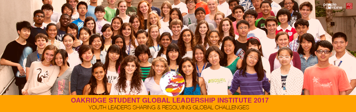 Book Online Tickets for Oakridge Student Global Leadership Insti, Hyderabad. Oakridge International School Newton Campus, Hyderabad, in partnership with the prestigious Punahou School, Hawaii, USA brings you the opportunity to participate in the second edition of the Oakridge Student Global Leadership Institute (Oakridge SGLI