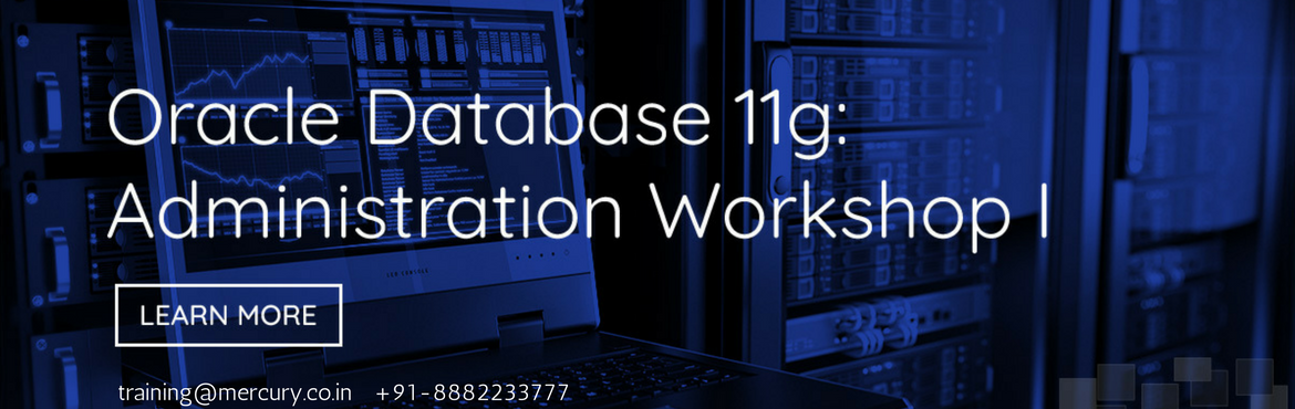 Oracle Database 11g: Administration Workshop I Online Training