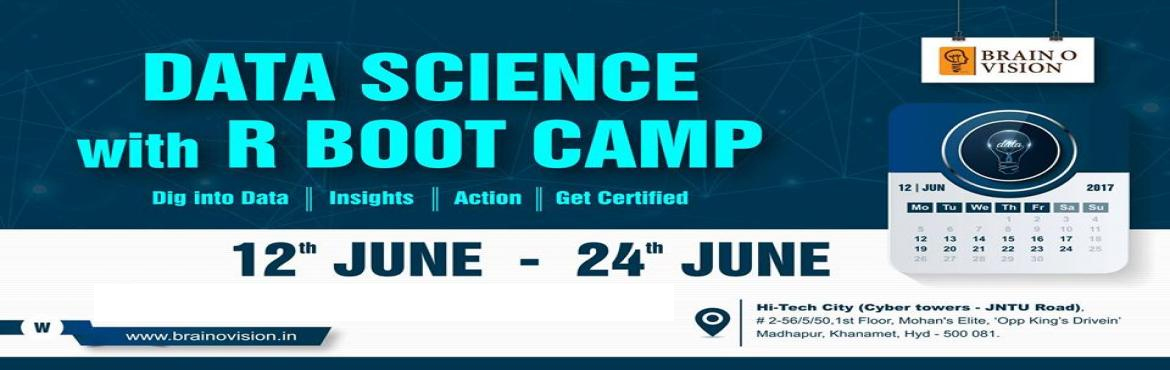 Book Online Tickets for Data Science with R, Hyderabad. Data Science with R  The Data Science with R training course has been designed to impart an in-depth knowledge of the various data analytics techniques which can be performed using R. The course is packed with real-life projects, case stu