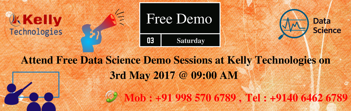 Attend Free Data Science Demo Sessions