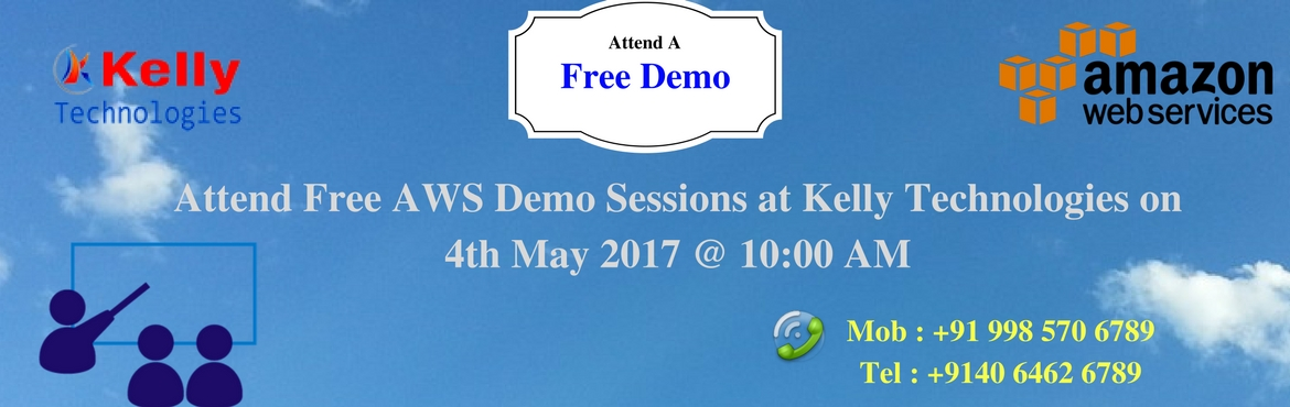 Attend Free AWS Demo Sessions