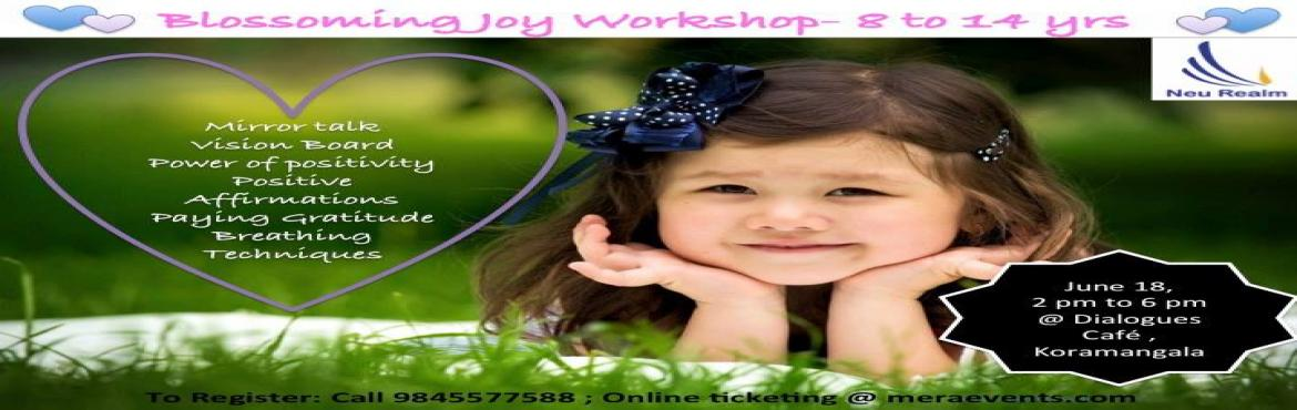 Blossoming Joy Workshop