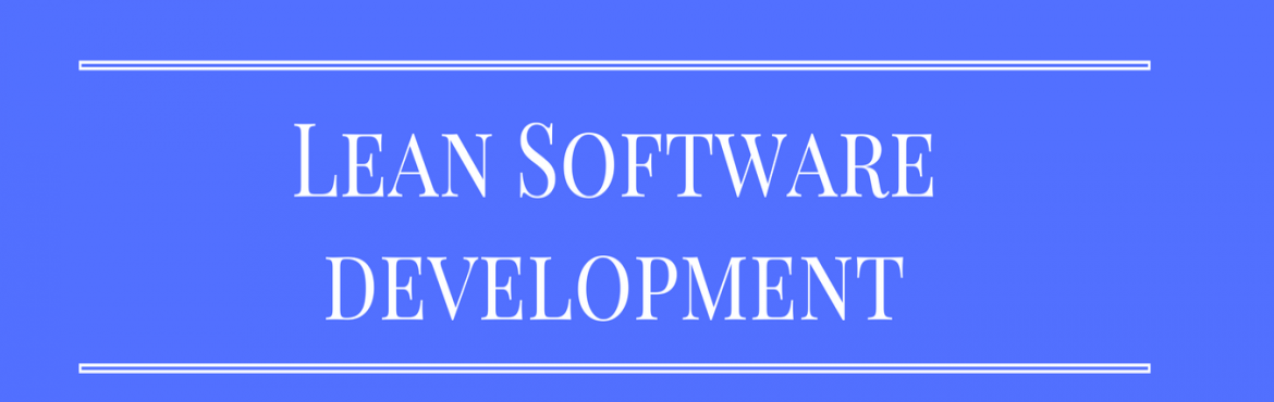Book Online Tickets for Lean Software Development using Scrum an, Chennai. Have you ever wondered why agile works? Do you want to go beyond the Agile Manifesto and examine the theoretical underpinnings of the agile movement? Get the facts on lean software development and explore tradeoffs in your own systems to optimize val