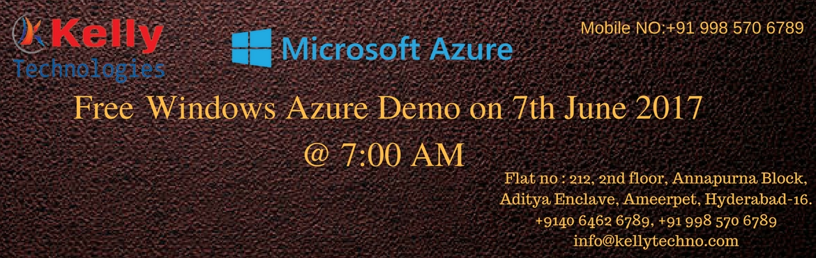 Enter Into the World of Windows Azure to Stay Ahead in Todays Competition World
