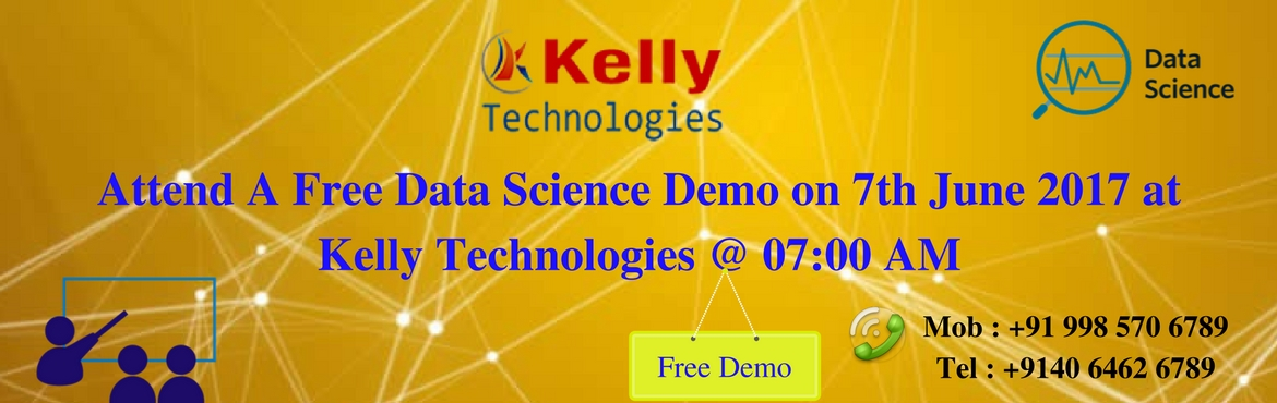 Attend A Free Data Science Demo