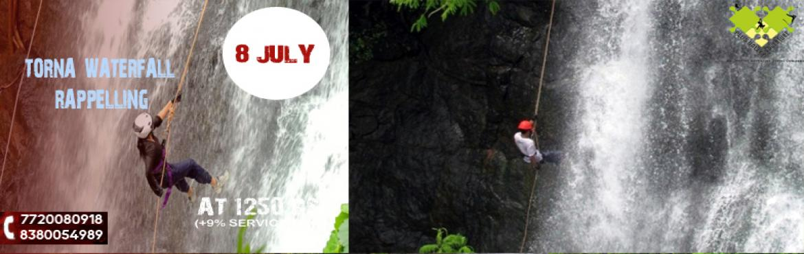 Book Online Tickets for Torna Waterfall Rappelling, Pune.  TORNA WATERFALL RAPPELLINGIndulge in this amazing and adventurous waterfall rappelling at Torna from Pune and get a chance to climb over one of the most beautiful waterfalls in India.Overview:-It is usually thought that rock adventure is over w