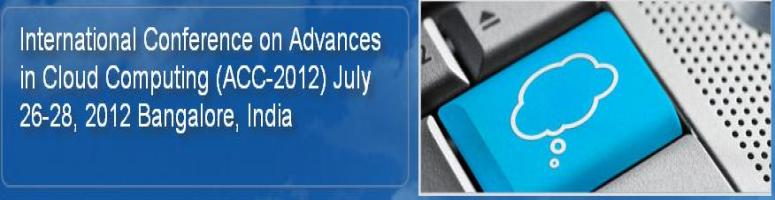 International Conference on ADVANCES in CLOUD COMPUTING