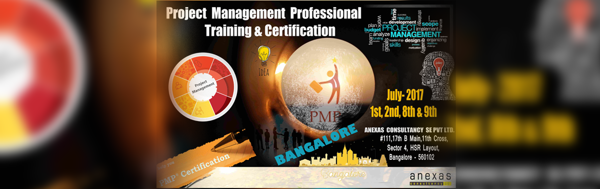 PMP Training and Certification program by Anexas. Get Trained with PMP and increase the Success rate of the Projects.