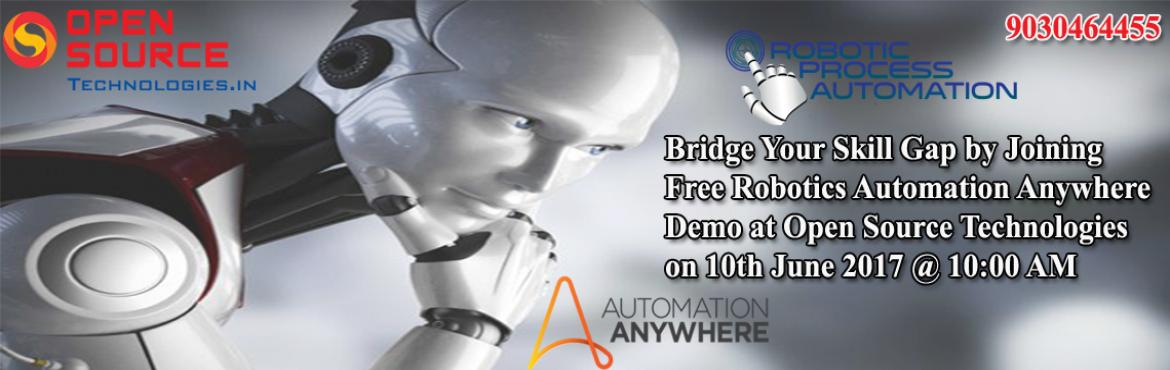 Bridge Your Skill Gap by Joining Free Robotics Automation Anywhere Demo