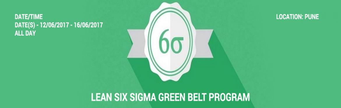 Lean Six Sigma Green Belt Program in Pune