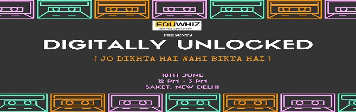 Book Online Tickets for Digitally Unlocked-Jo Dikhta Hai Wahi Bi, New Delhi. EDUWHIZ presents you with a Summer Digital Marketing Course taken by Ashfaq Ahmad, expert SEO/ Digital Marketing Consultant. The participants will be given a holistic understanding of digital marketing methods. ABOUT THE MENTOR: Ashfaq Ahmad- Founder