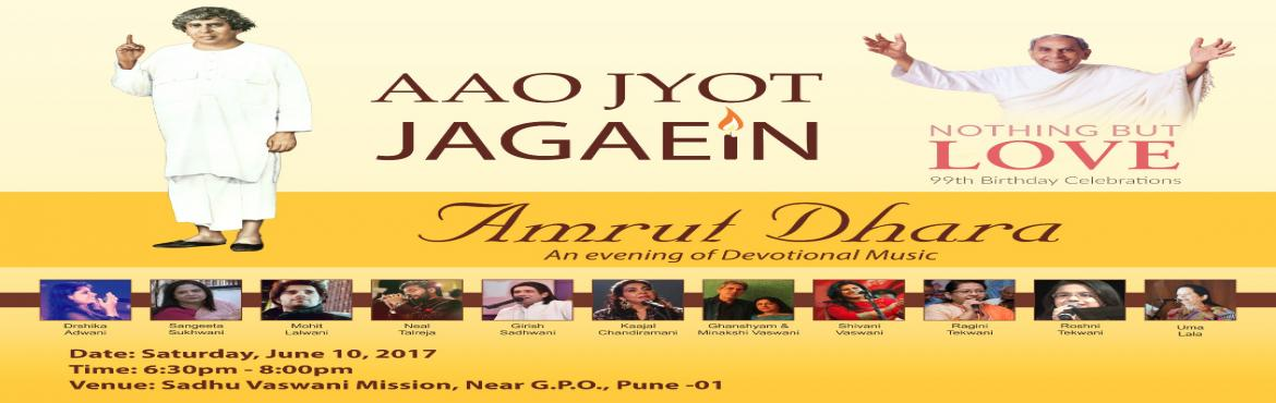 AMRUT DHARA - Prominent Sindhi Singing Stars from all over India to perform LIVE in Pune