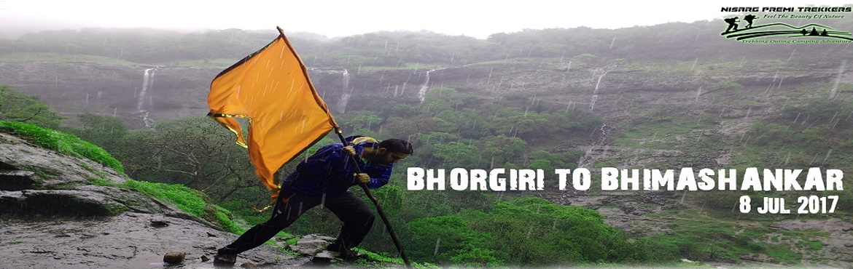 Book Online Tickets for Bhorgiri to Bhimashankar 1 day Trek on S, Pune. Pleasecall or WhatsApp before registration 8446270950/8668956621     Date:8th Jul from Pune, Sat 5.30 AM to 8.00 PM Pickup points:Swargate, Aundh, Wakad, Dange Chowk, Bhosari Base Village:Bhorgiri(90 km) Total Trek