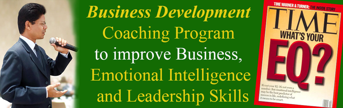 Business Development Coaching Program to improve Business, Emotional Intelligence and Leadership Skills
