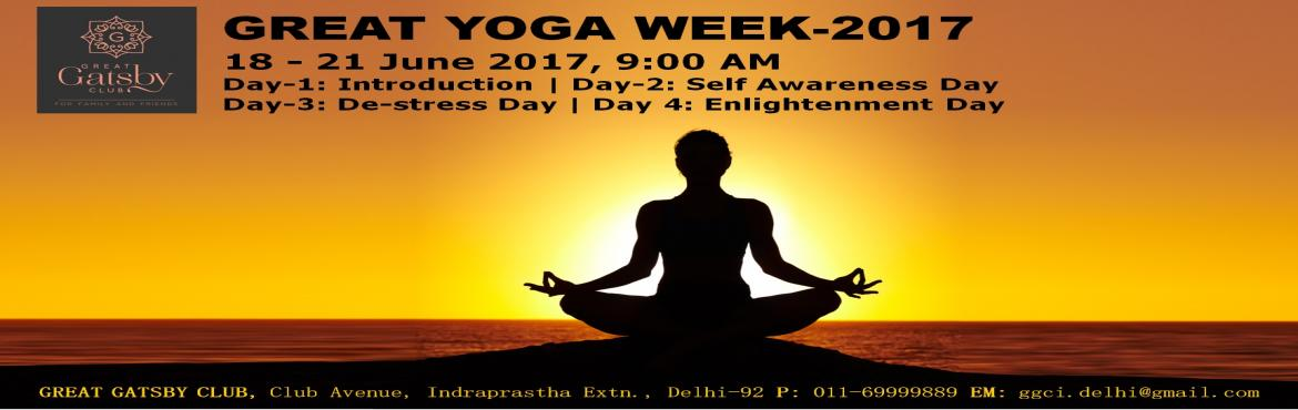 GREAT YOGA WEEK